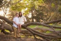 couple sitting on tree branch