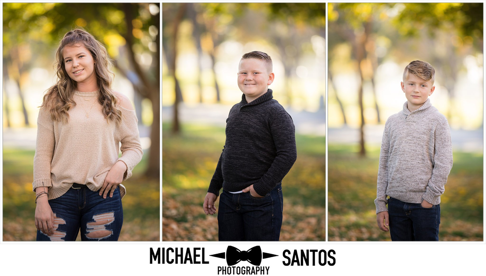 individual sibling portraits at lancaster city park